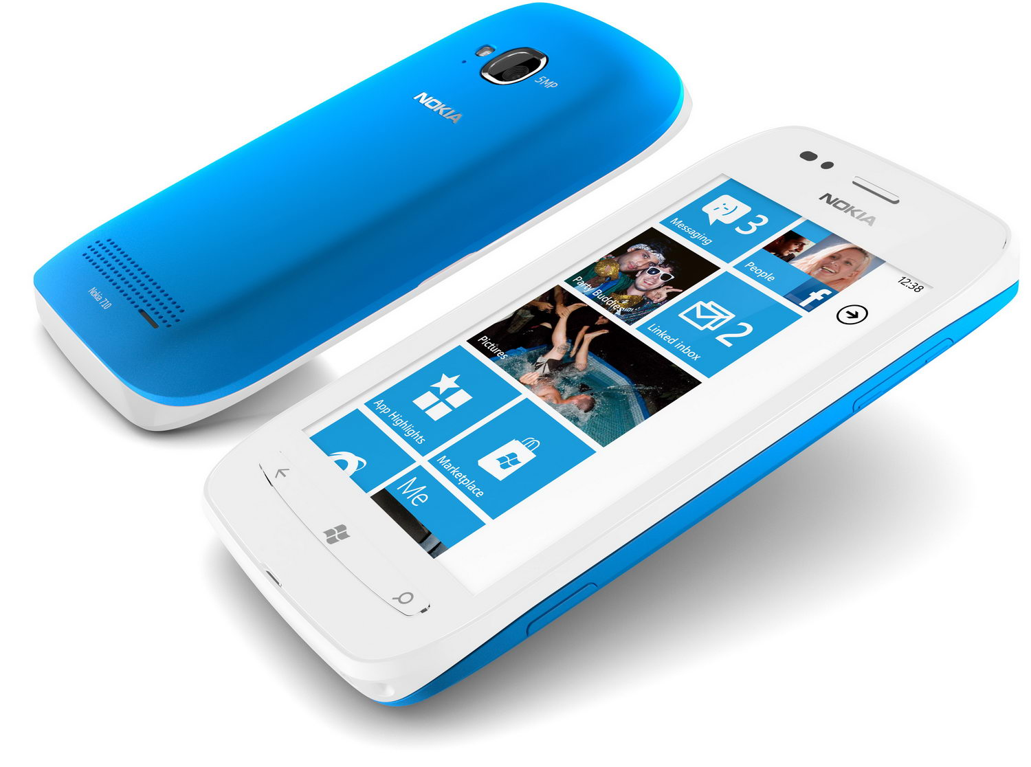 Lumia 710 running Windows Phone 7